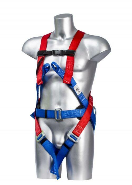 PORTWEST FP17 Comfort teljes testheveder - Piros/kék