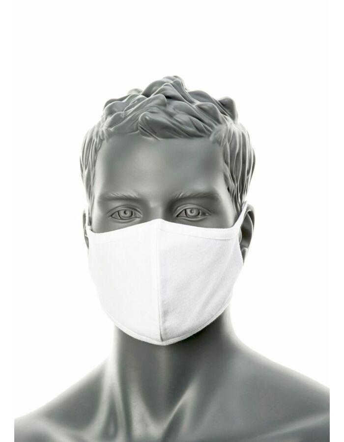 PORTWEST CV-22 2 rétegű anti-mikrobiális fehér arcmaszk