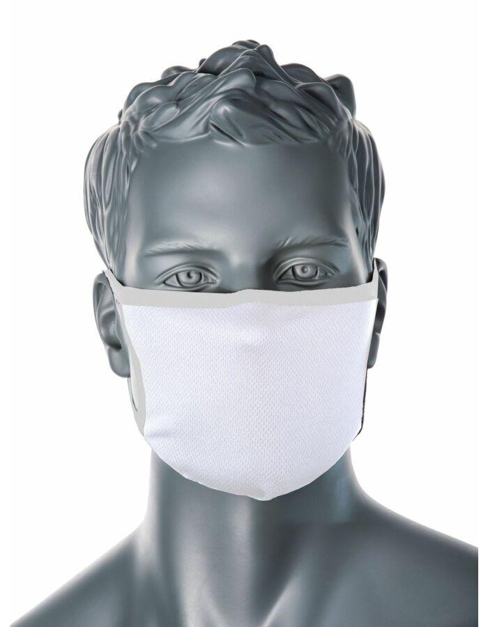 PORTWEST CV-33 3 rétegű anti-mikrobiális fehér arcmaszk