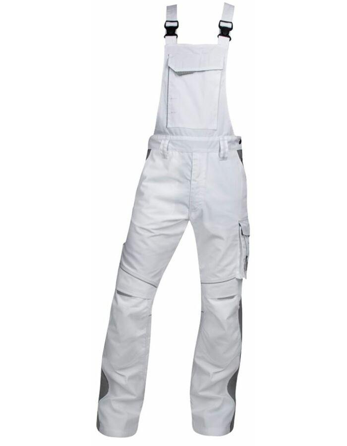 Urbán fehér munkaruha kantáros nadrág